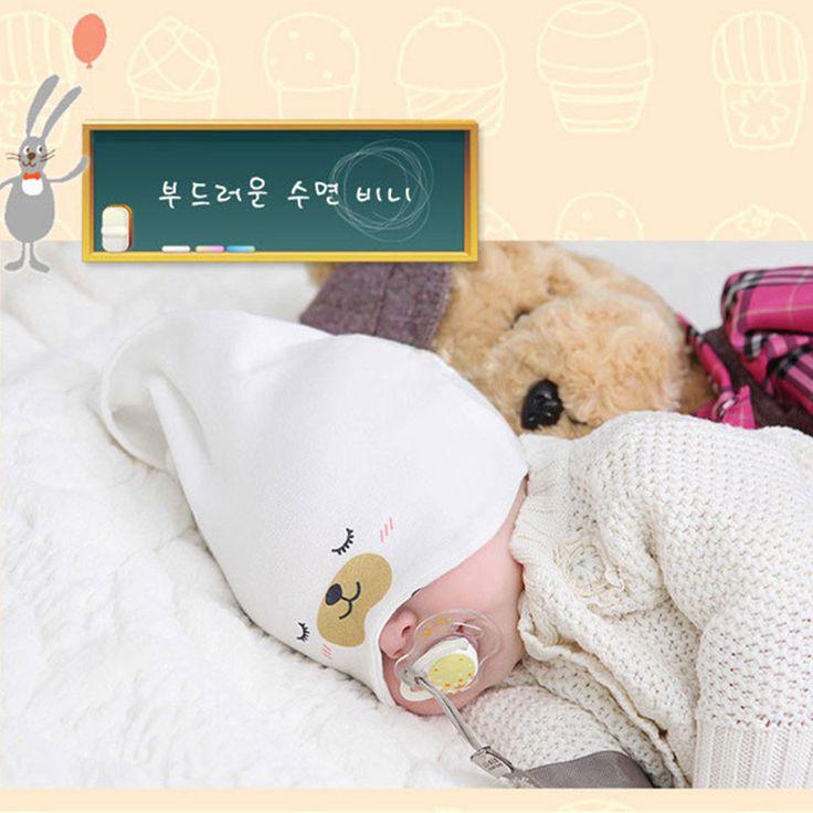 2015 New Baby Hat Осень Зима Детские шапочка Теплый сна хлопка малышей Cap малышей Младенческая малышей Одежда для новорожденных Аксессуары Hat