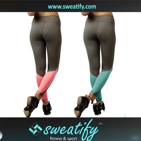Sweatify Quick-dry Sport Elastic Pants & Leggings for Workout, Yoga & Gym for Women