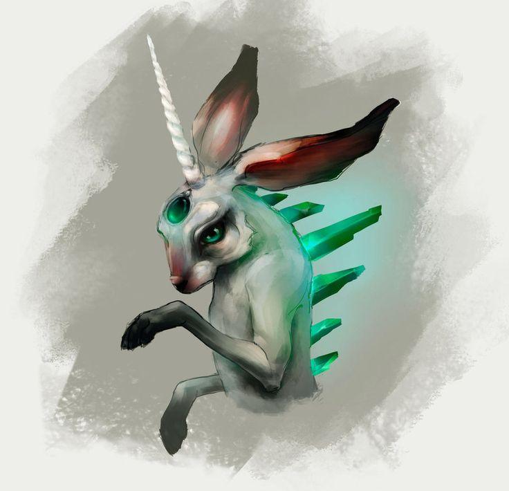 Bunny  #bunny #digitalart #digitalpainting #rabbit #sketch #art