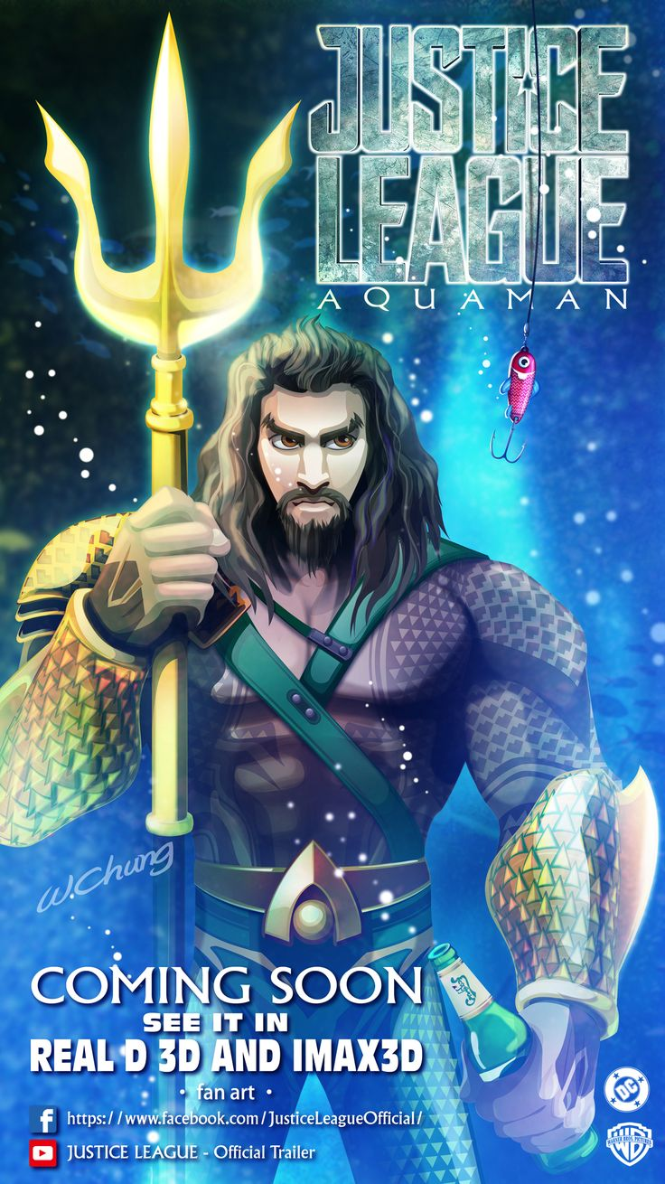 AQUAMAN#AQUAMAN POSTER#DC Films#SUPER HERO#DC SUPER HERO#Warner Bros. Pictures#Justice League#Justice League MOVIE#Justice League movie poster#DC COMIC# AQUAMAN COMIC#CARTOON#POSTER#MOVIE  #COMICl#cartoon#movie#sketch#illustration#comic#manga#drawing#wallpaper#fan art#by wolf chung#肥仔聰