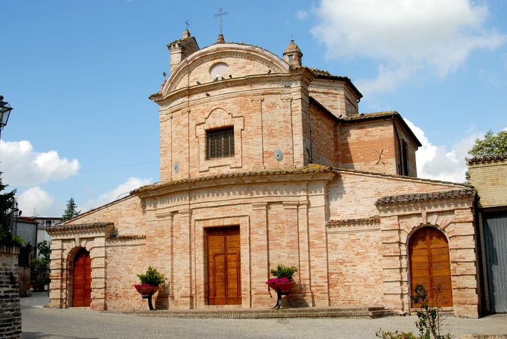 Chiesa del Carmine #marcafermana #ortezzano #fermo #marche