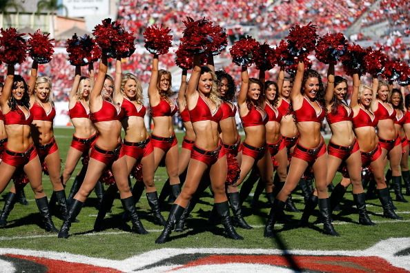 The lawsuit was filed on behalf of the 2012 Tampa Bay Buccaneers cheerleading squad for underpayment... - J. Meric/Getty Images
