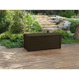 Buy Brown Keter Wood Effect Plastic Garden Storage Box at Argos.co.uk, visit Argos.co.uk to shop online for Garden storage boxes and cupboards
