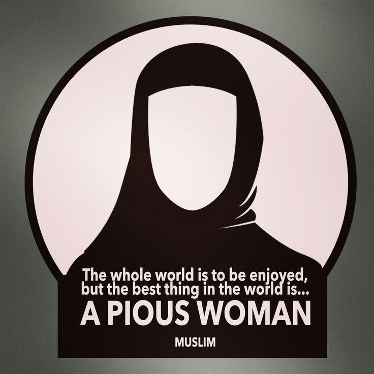 Pious woman