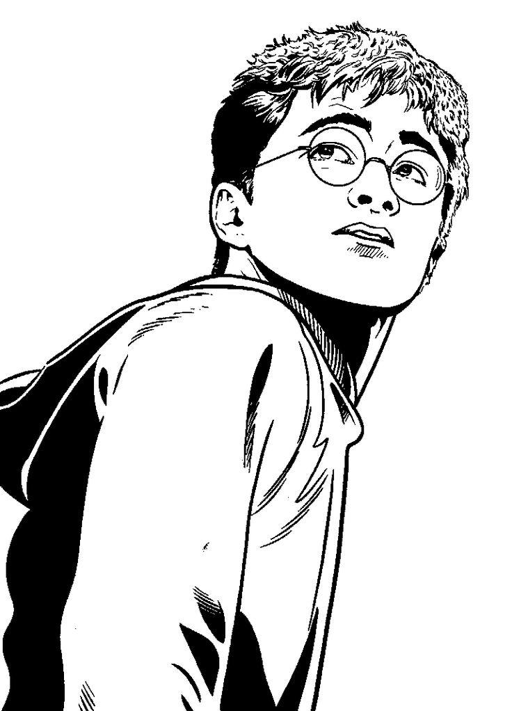 Kolorowanki Harry Poter online do druku