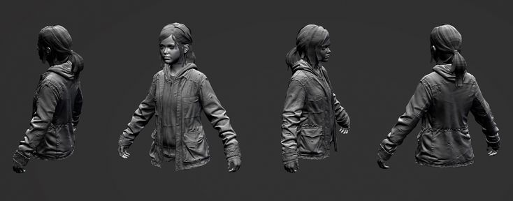 The Last of Us - Character Sculpts (+ images Pg 8 & Pg 12)