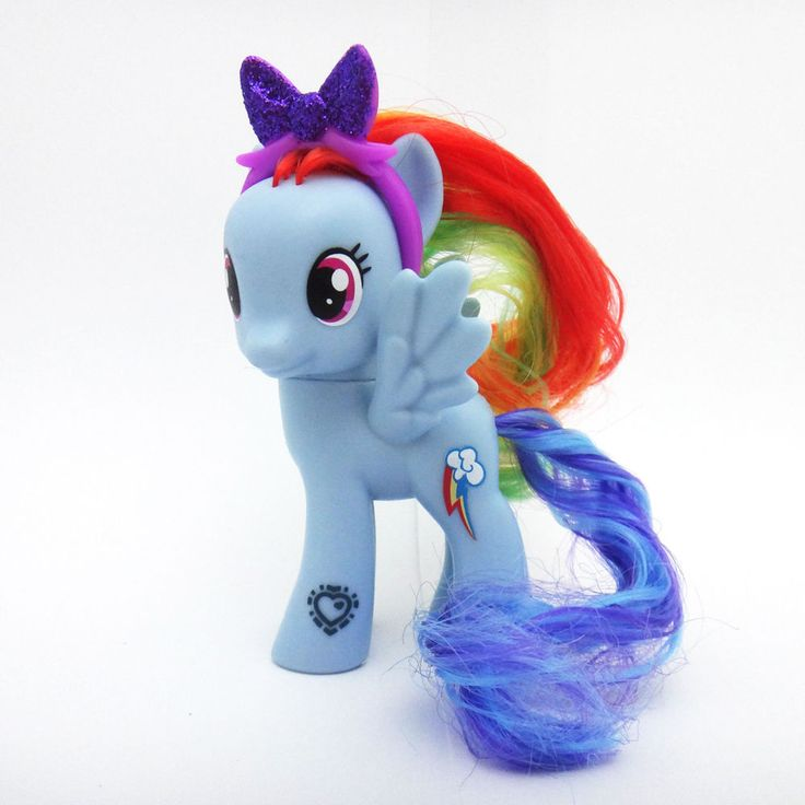 "Hasbro My Little Pony 9cm 3.5"" Figure Cutie Mark Magic Friends Asst Rainbow Dash #Hasbro"
