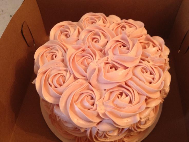 Rose buttercream www. Boucheegourmet.com