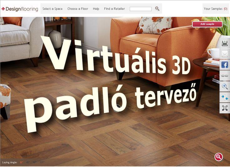 Tervezz padlót virtuálisan, a saját lakásodba! https://goo.gl/4t9x0y #látványterv #3D #vinyl #lakberendezés #burkolat #3dtervezés #3d_terv #dreamfloor