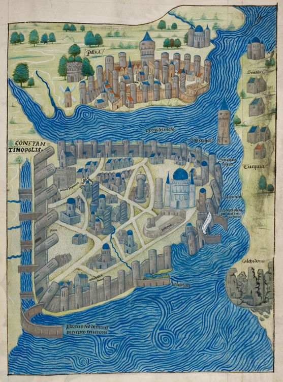 Philip Hughes, Constantinople and Pera