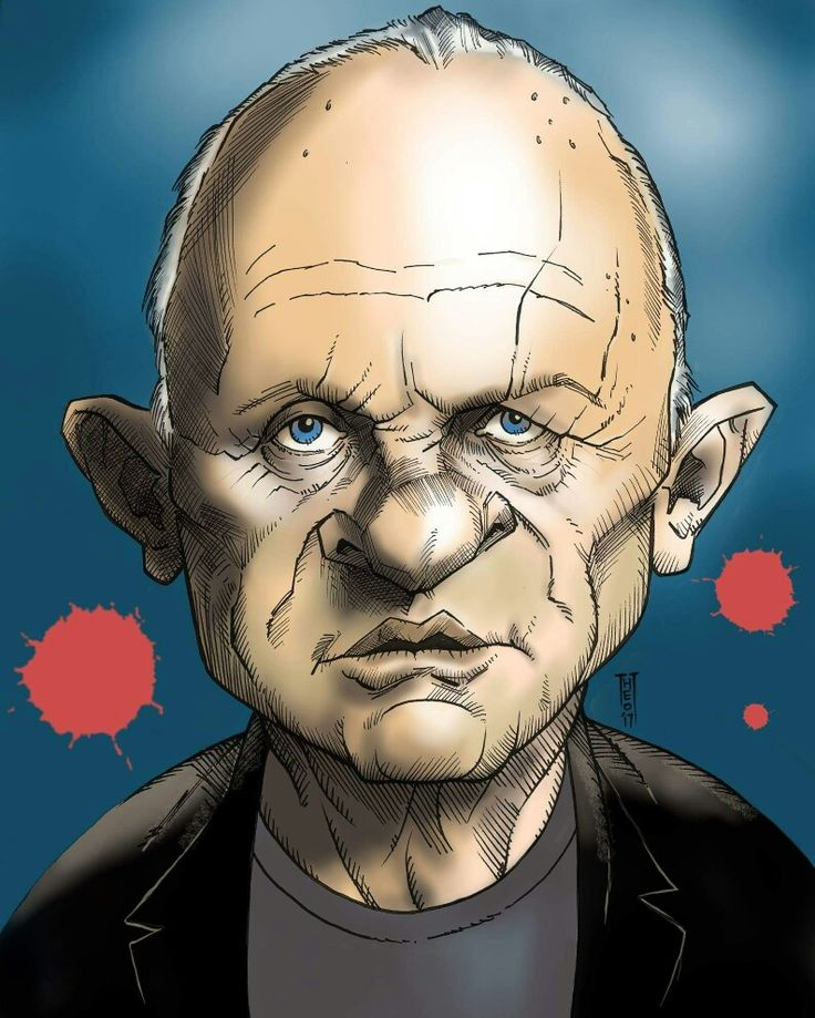 Anthony Hopkins... by Theo.