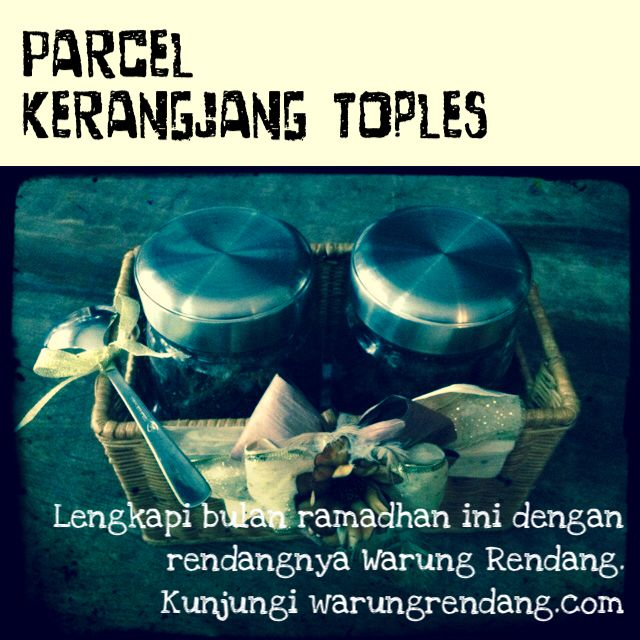 Fill your ramadhan moment with our special package. Visit our website warungrendang.com to see more offer and other info