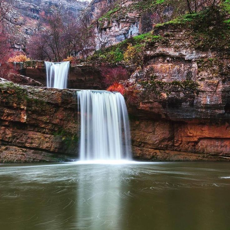 The Mirusha Waterfalls are a popular tourist destination of Kosovo and hard to find elsewhere in the Balkans!