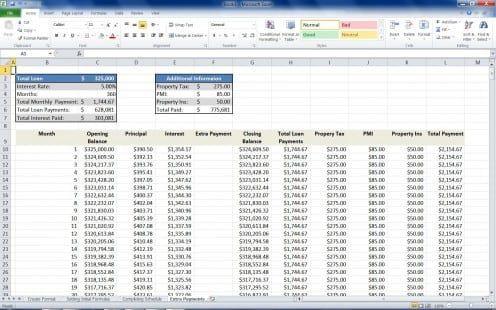 Loan Calculator Template 404 Mortgage Loan Calculator