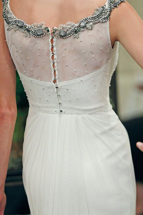 Badgley Mischka, Fall 2013. Click to see the full dress.