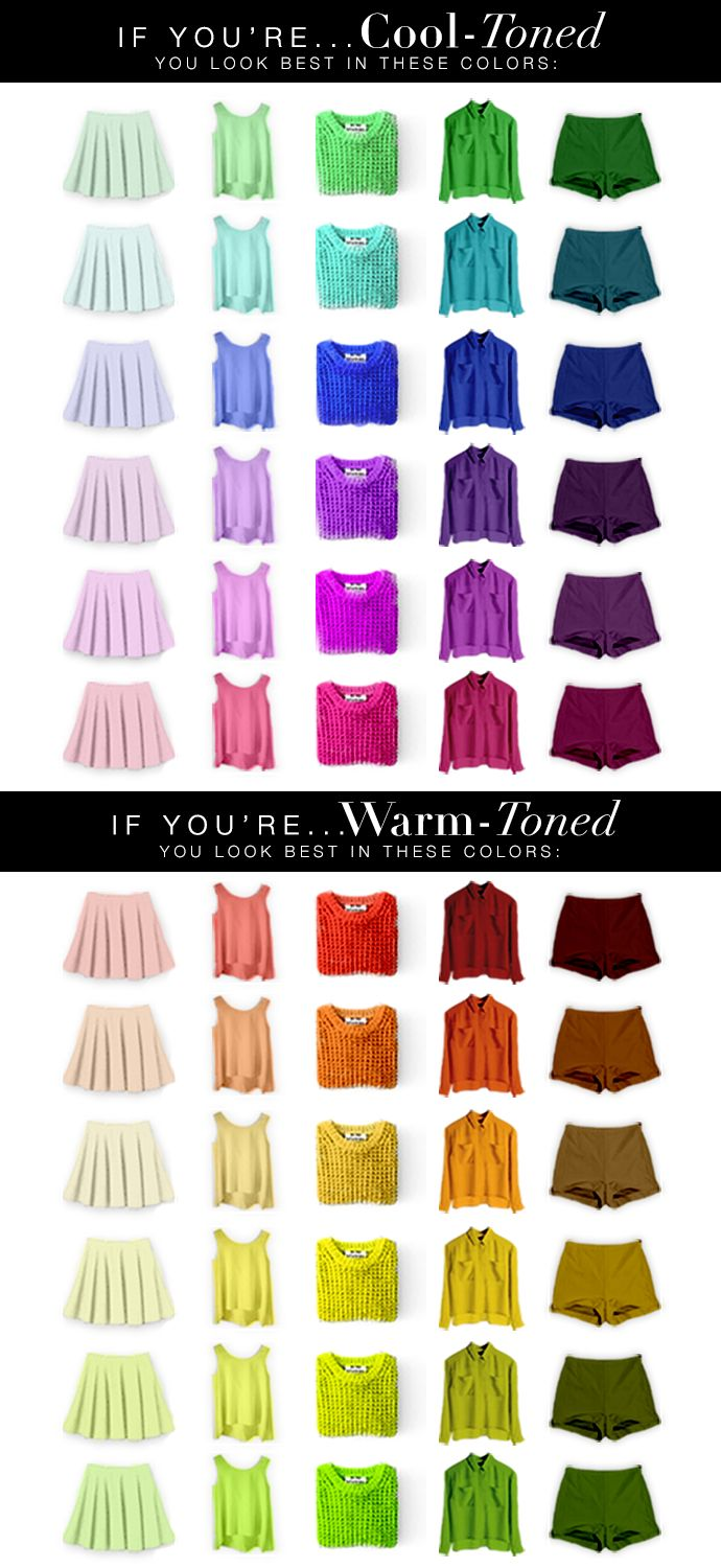 How to Figure Out What Colors Look Best On You  #bestclothingcolors