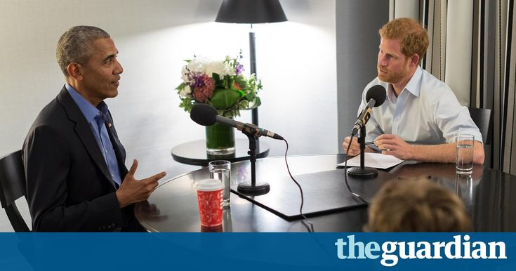 Barack Obama tells Prince Harry: leaders must stop corroding civil discourse | US news | The Guardian