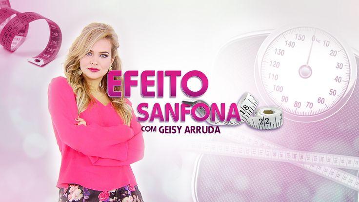 Efeito Sanfona com Geyse Arruda (Assinatura // Quadro)  Programa Hoje em dia - Tv Record <3