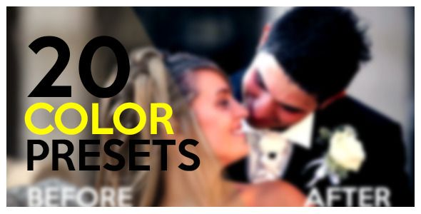 20 Color Presets by USHV | VideoHive
