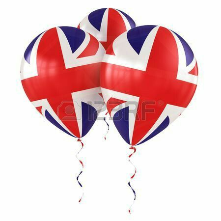 Freedom, Union Jack Balloons