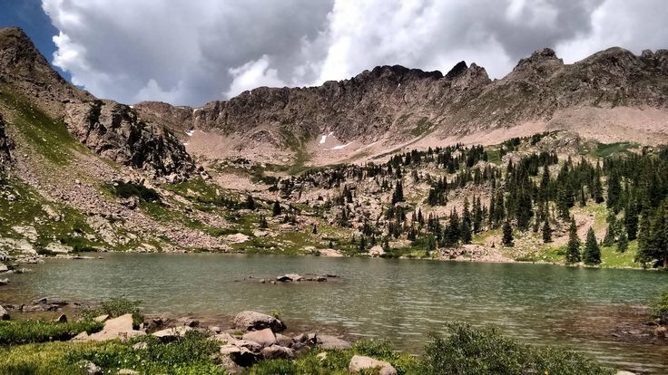 My first alpine lake hike - Gore Lake Vail Colorado (OC) [3264 x 1836]