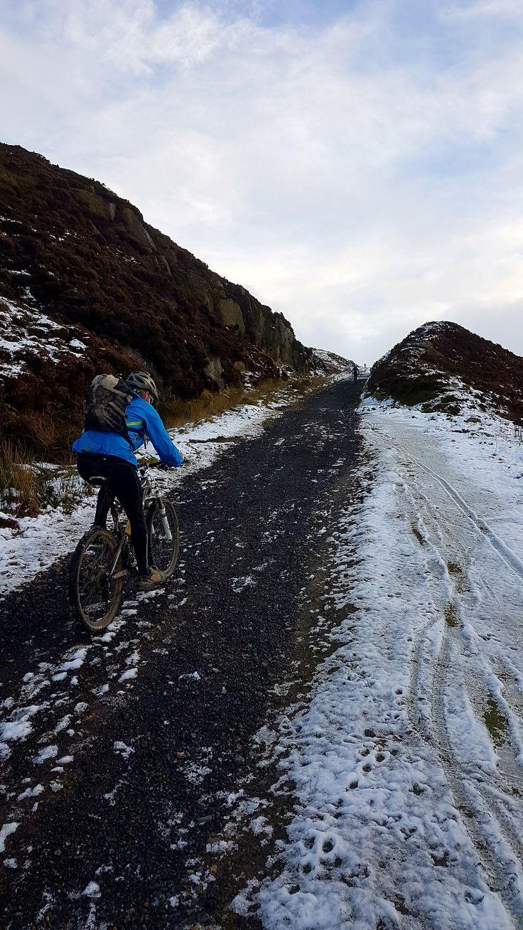 Ingleby Incline cyclist