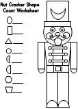 Christmas math - identify shapes