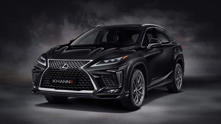 Lexus Rx Look Stylish With Help From Khann Lexus New Lexus Car Tuning