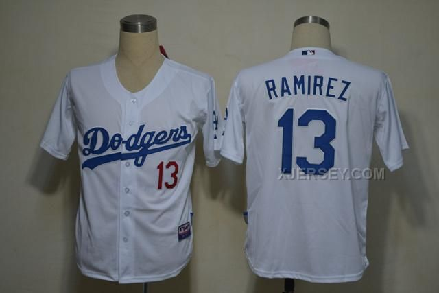 http://www.xjersey.com/dodgers-13-ramirez-white-jerseys.html Only$34.00 DODGERS 13 RAMIREZ WHITE JERSEYS Free Shipping!