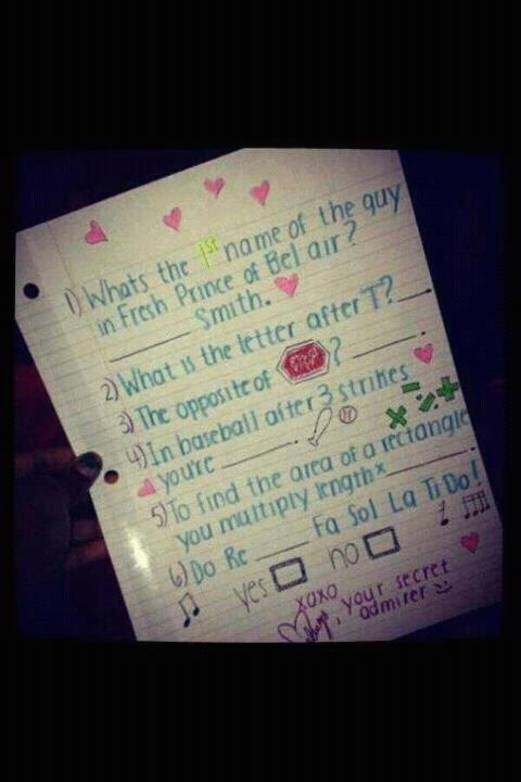 Nice way to ask a girl out