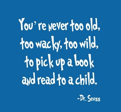 Read to a child!