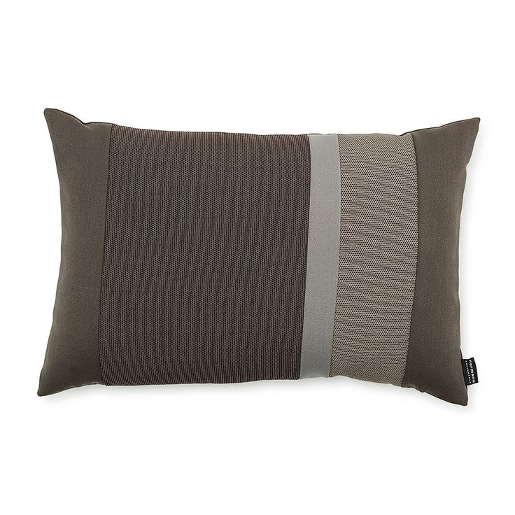 top3 by design - Normann Copenhagen - line cushion brown 40x60