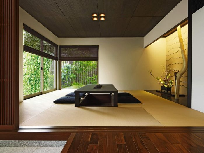 17 best ideas about washitsu on pinterest japanese house for Japanese tatami room design