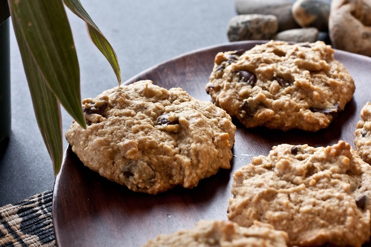 Paleo Chocolate Chip Cookies, aka...Caveman Cookies. Awesome recipe!  They are as tasty as their gluten-full counterparts :)