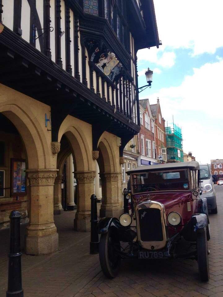 Vintage car in Saffron Walden, Essex
