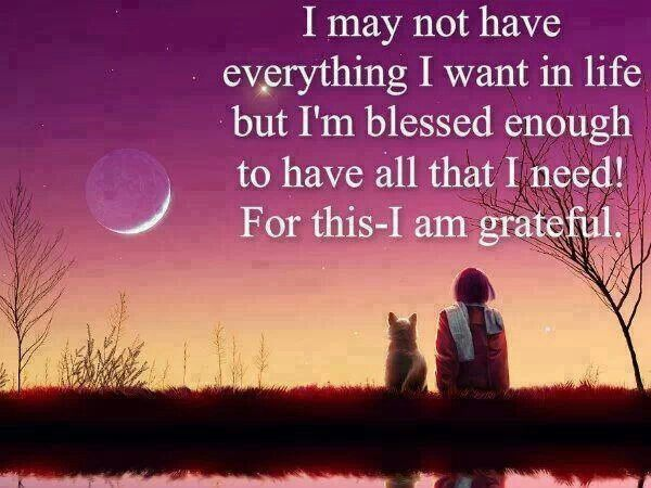 i am blessed quotes - photo #13
