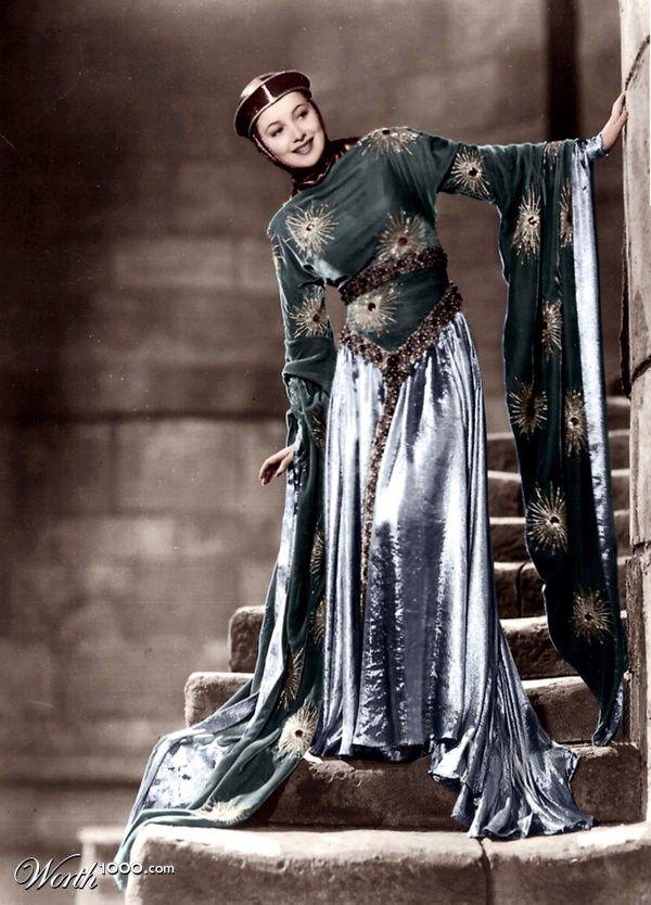 Olivia de Havilland as Maid Marion, 1938