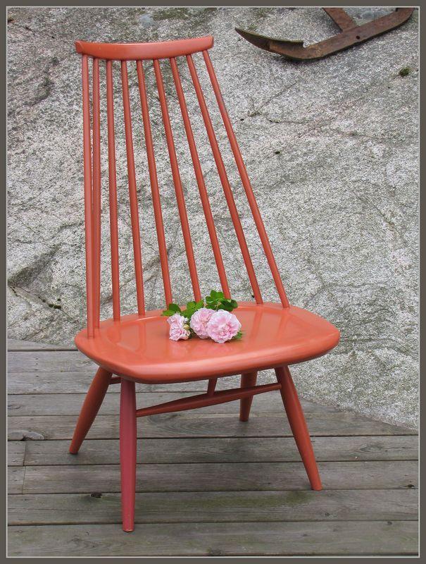 Vintage Ilmari Tapiovaara`s Mademoiselle chair.