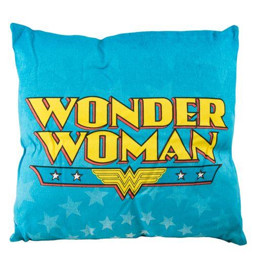 Wonder Woman Logo Cushion