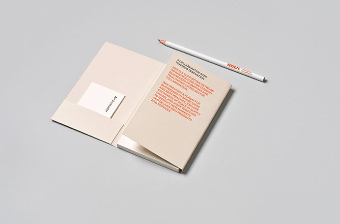 Bespoke Conference Pack, with business cards, notepad and pencil