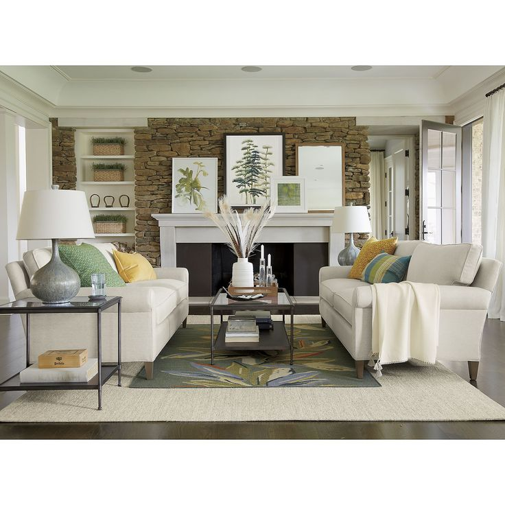 Crate And Barrel Living Room Inspiration
