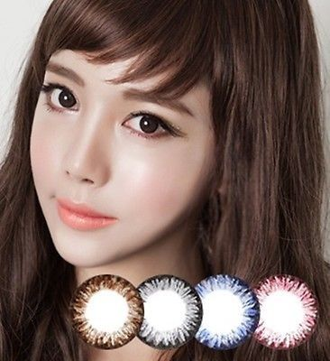[GLAM EYE] CL202 BROWN - COLOR CONTACT CIRCLE LENS [NON PRESCRIPTION LENSES] No.mg013