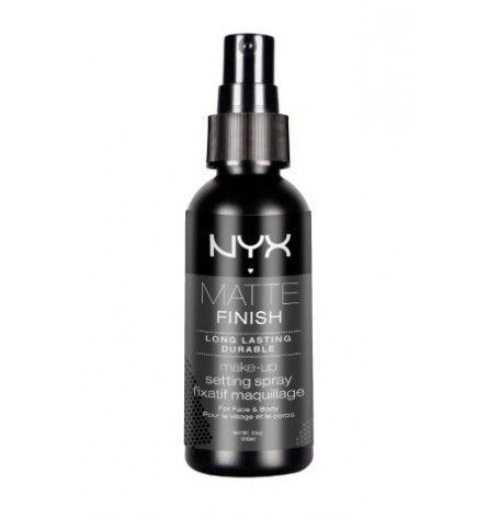 Спрей для закрепления макияжа NYX Make Up Setting Spray — надежная фиксация вашего макияжа