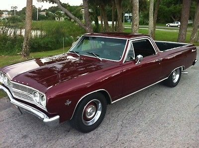 old school muscle cars | Elcamino 1965 street classic old school muscle A/C awsome car