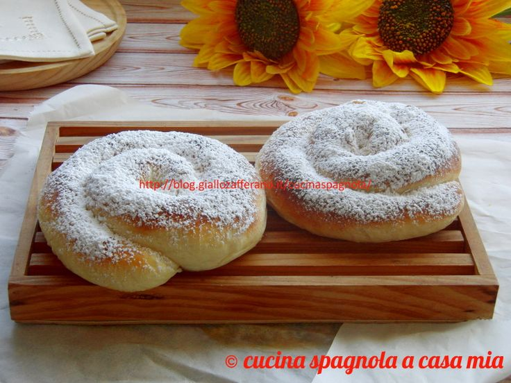 La ensaimada è un dolce tipico delle Baleari. Dal blog Cucina Spagnola A Casa Mia.