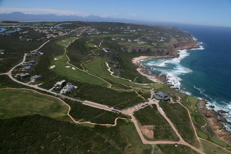 Overhead view #Ocean #Clubhouse #Golf_Range