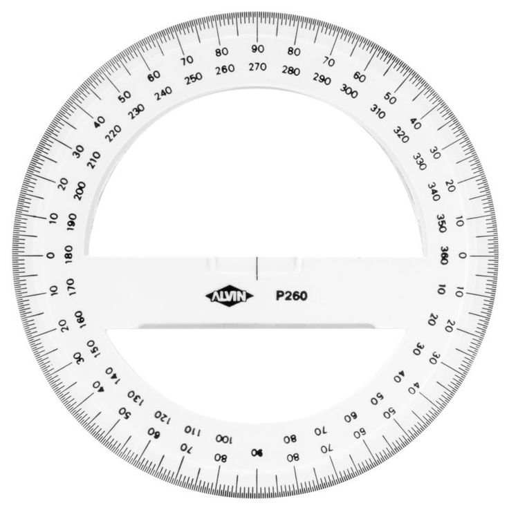 6 circular protractor in 2019 circle template coloring. Black Bedroom Furniture Sets. Home Design Ideas