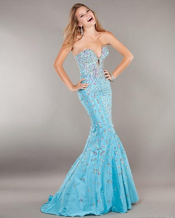 71 Best Blue Wedding Dresses Images On Pinterest
