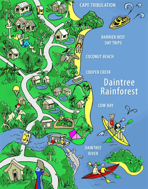 Daintree Info.com - Daintree Accommodation, Activities & Info