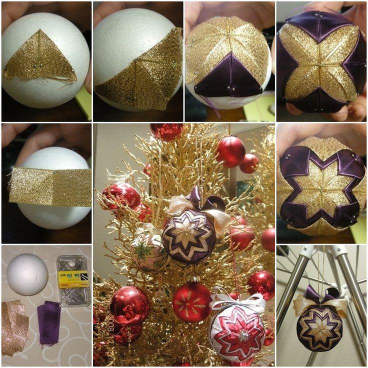 DIY Christmas Star Patchwork Ornament  --> http://wonderfuldiy.com/wonderful-diy-christmas-patchwork-ornament/